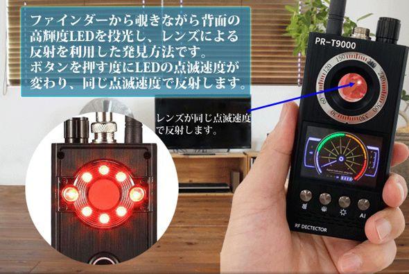 赤色LED点滅
